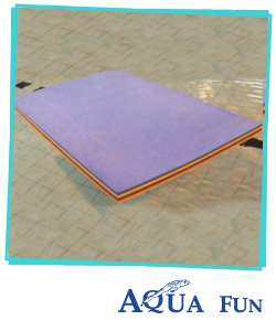Rectangular Swimming Pool Mat (Assorted Colours)