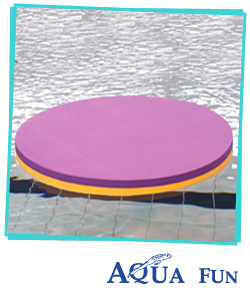 Round Mat (Two colours Lilly Pad)