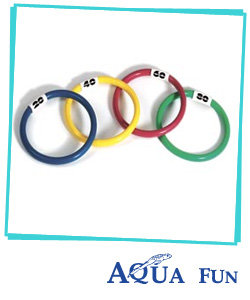 Diving Rings (pack of 4)