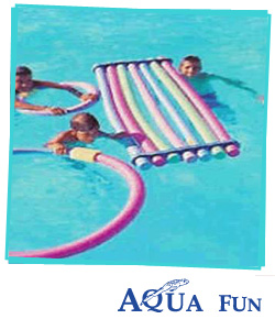 Swimming Noodles - Woggles - Raft