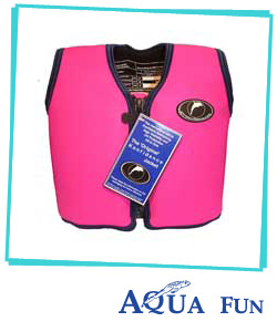 Childrens Swimming Jacket Superior - Pink or Blue