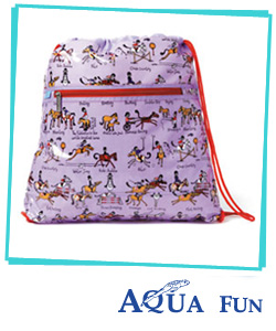Swimming Kit Bag, Tyrrell Katz - Ponies