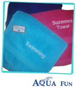 Beach and Swimming Towels (Personalised)