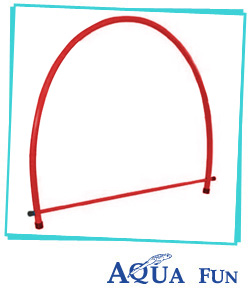 Swim Through Weighted Hoop (D Shape)